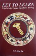 Book KEY TO LEARN Sub Sub & Cuspal Interlinks Theory