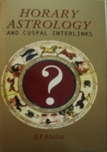 Book Horary Astrology and Cuspal Interlinks